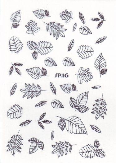 Слайдер дизайн SP.16 листья