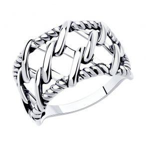 Кольцо из серебра 95010158 SOKOLOV