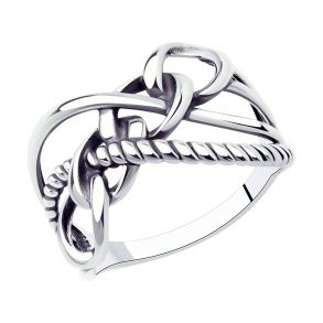 Кольцо из серебра 95010146 SOKOLOV