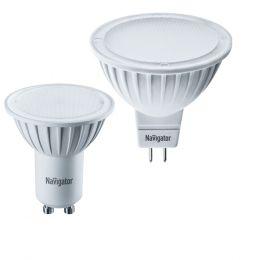 "Лампа светодиодная (led) ""Онлайт"" MR16 07w GU5.3, тепл. свет"