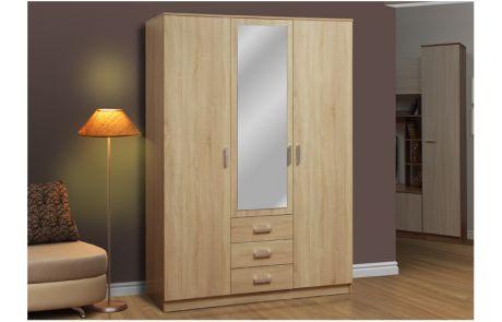 Шкаф для одежды 06.291 Фриз с зеркалом (1500)