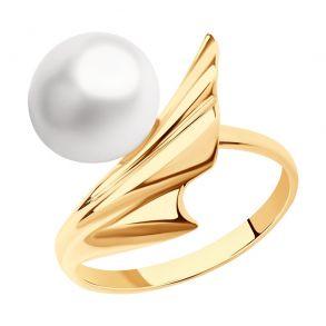 Кольцо из золота с жемчугом 791199 SOKOLOV