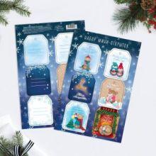 Набор мини открыток «Подарок для тебя», 16 × 24 см, 6 шт