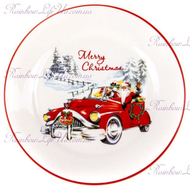 "Новогодняя тарелка ""Merry Christmas"""
