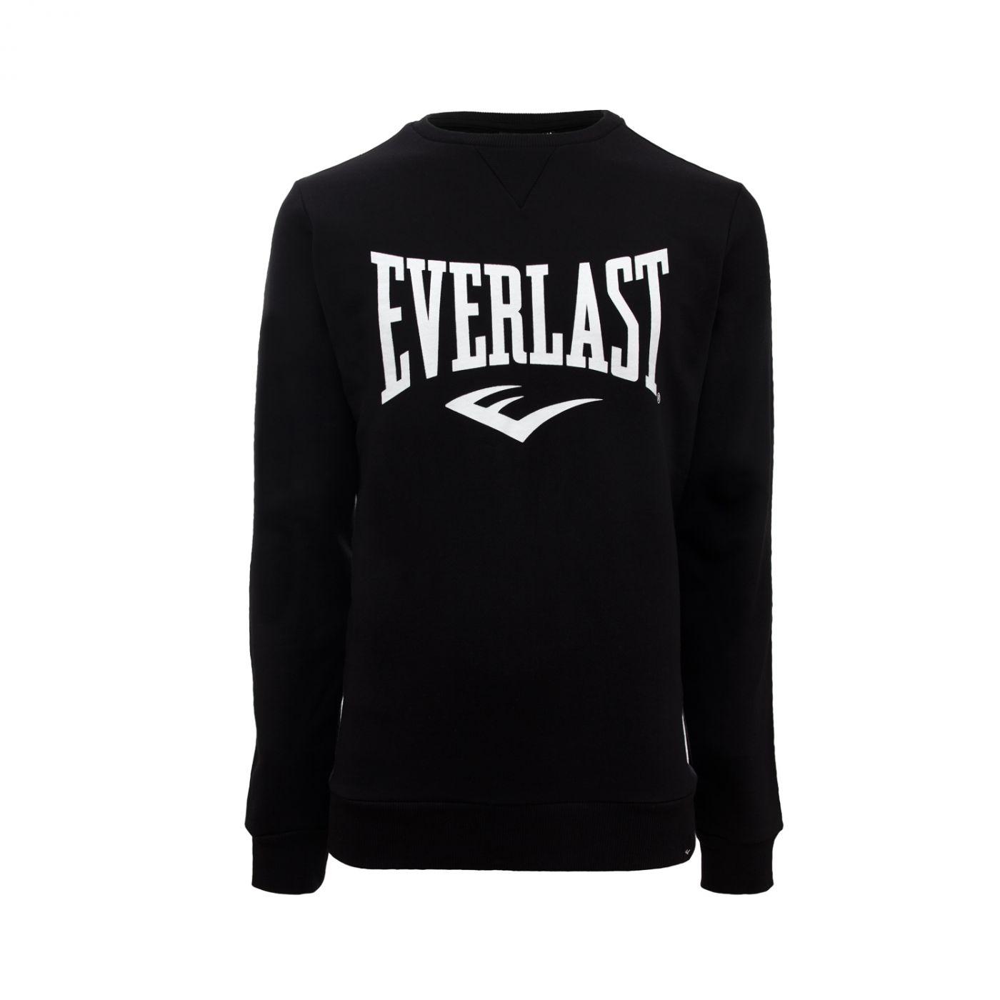 Толстовка Everlast Basic Crew, размер L, чёрная, артикул 788700-60 L BK