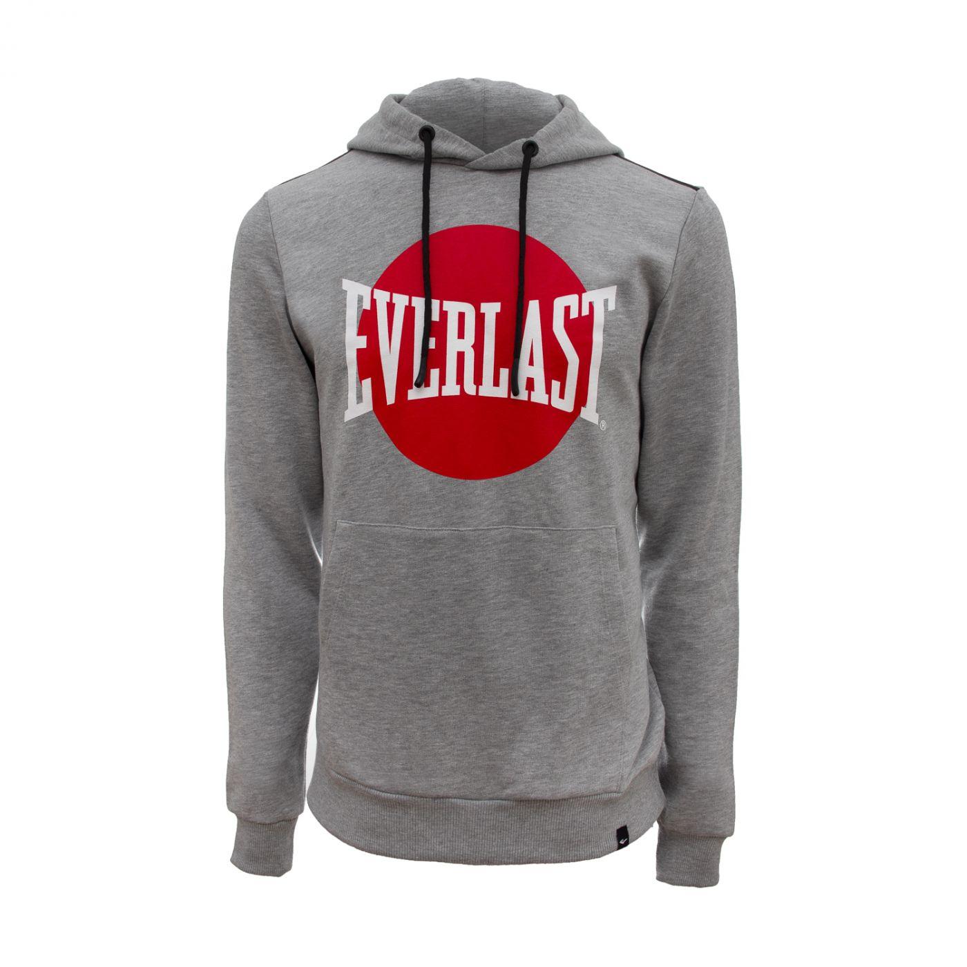 Толстовка Everlast с капюшоном Kobe, размер S, серая, артикул 789351-60 S GR