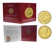 Австралия 1 доллар 1984 блистер UNC