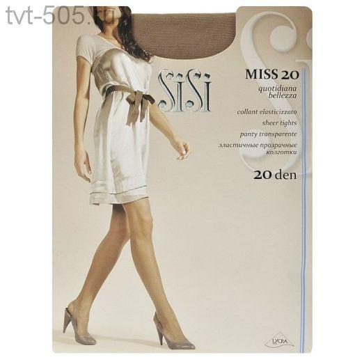 Колготки SISI miss 20d эластичные колготки прозрачные