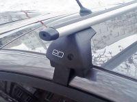 Багажник на крышу Hyundai Elantra 6 (AD) 2015-..., Евродеталь, аэродинамические дуги