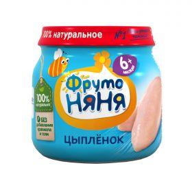 ФрутоНяня Цыпленок 80г