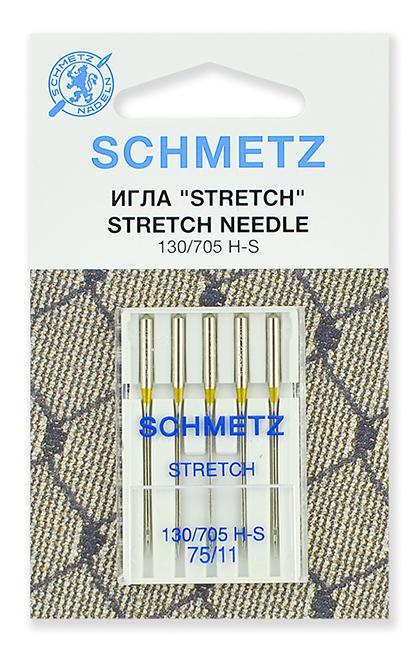Иглы стрейч Schmetz 130/705Н-S №75 (22:80.FB2.VMS)