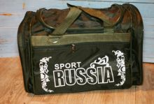 Сумка спортивная Russia Sport зеленая