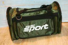 Сумка спортивная Sport team зеленая