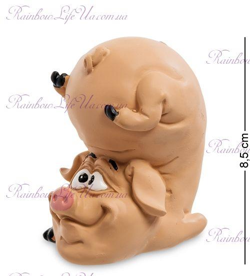"""Фигурка свинка позитивчик """"WS"""""""