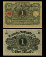Германия - 1 марка, 1920. UNC. Мультилот