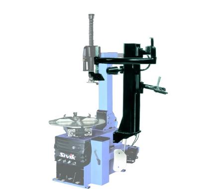 Пневматическое устройсто для установки и снятия низкопрофильных шин