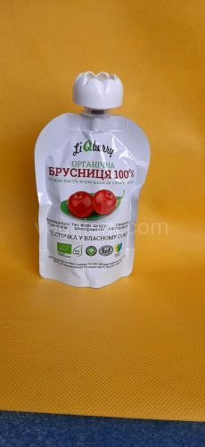 Паста брусничная Liquidfruits,100 грамм