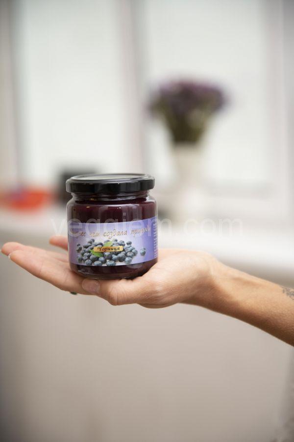 Паста черничная Liquidfruits,550 грамм и 200 грамм