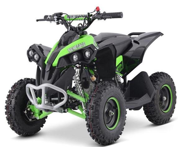Детский квадроцикл бензиновый Renegade 49 cc