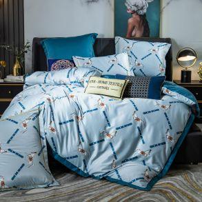 Комплект постельного белья Сатин Роял Тенсель TS002