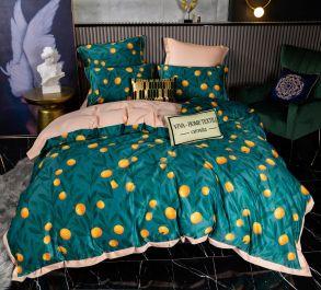 Комплект постельного белья Сатин Роял Тенсель TS005