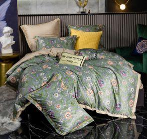 Комплект постельного белья Сатин Роял Тенсель TS007