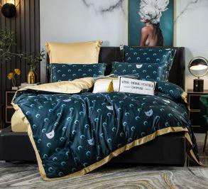Комплект постельного белья Сатин Роял Тенсель TS011