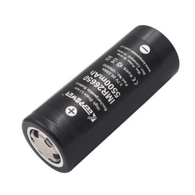 Аккумулятор KeepPower IMR26650 26650 5500мАч, без защиты