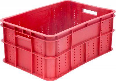 Ящик пластиковый 600х400х258 сплошное дно