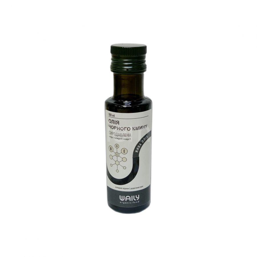 Сыродавленное масло черного тмина Waily Organic Food,100мл