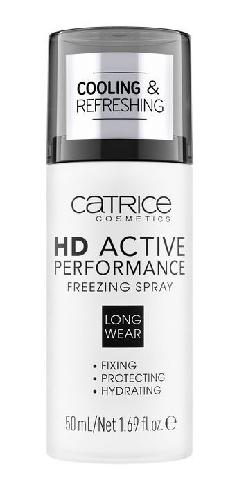 Спрей для фиксации макияжа  HD Active Performance Freezing Spray Catrice