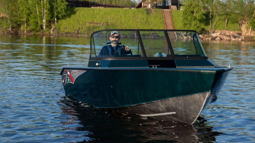 Лодка WINDBOAT 5.0 EvoFish