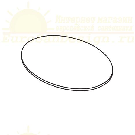 Столешница керамическая Cielo Catino Ovale CAPIO 65х45 ФОТО