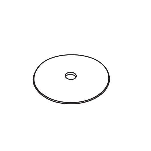 Столешница керамическая Cielo Tiberino TIPI 50х50 ФОТО