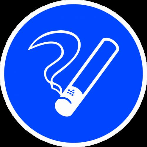 """Наклейка М15 """"Курить здесь"""", ГОСТ, Айдентика Технолоджи"""