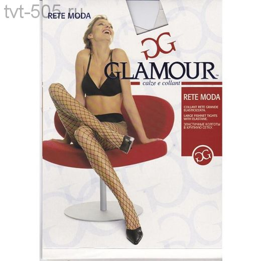 Колготки Glamour сетка