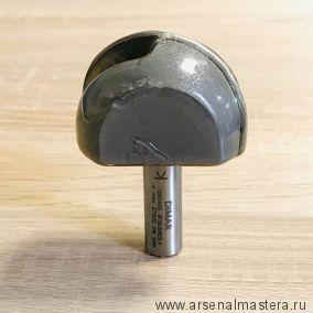 Фреза галтель R 25,4 мм 50,8 x 32 х 70 мм хвостовик 12 мм DIMAR 1060409