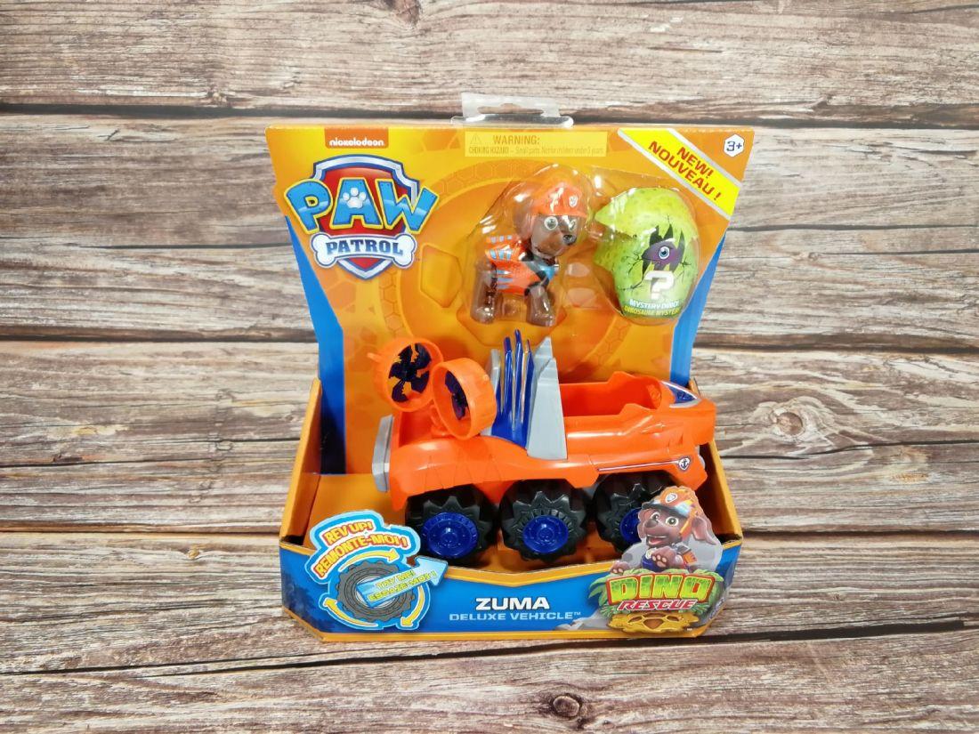 Щенячий патруль Dino Rescue Zuma + машина с сюрпризом 6056923