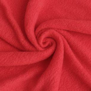 Флис, праздничный красный 50х37