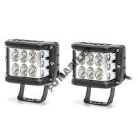 Комплект светодиодных фар K-FG12-36W FLOOD ближний, боковое освещение