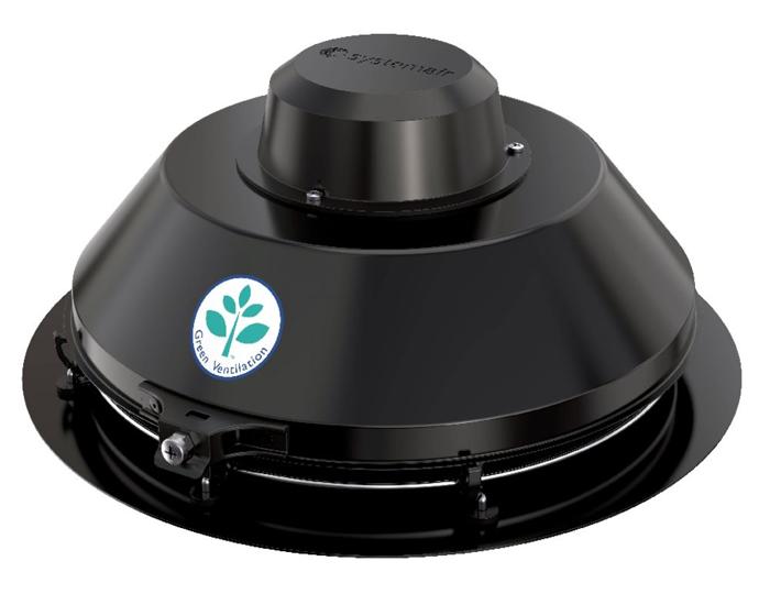 Крышный вентилятор TFSR 160 Sileo Black