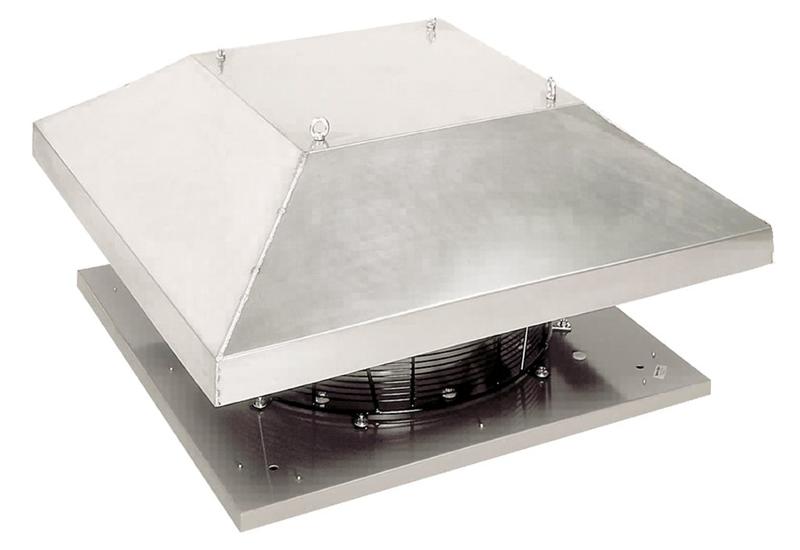 Крышный вентилятор DHS 560DS sileo
