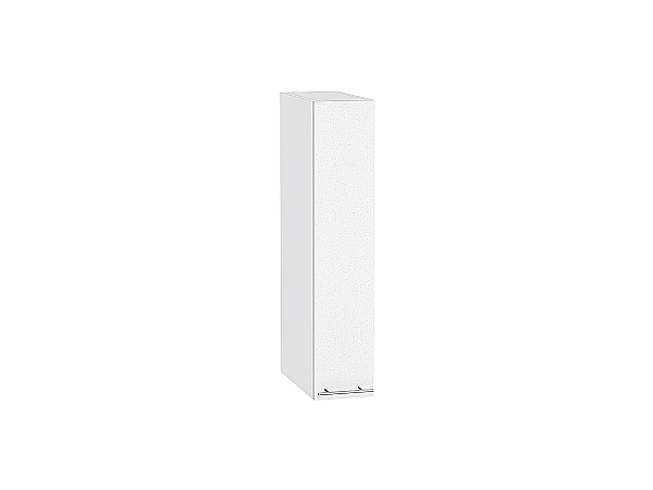 Шкаф верхний бутылочница Валерия ВБ200 (белый металлик)