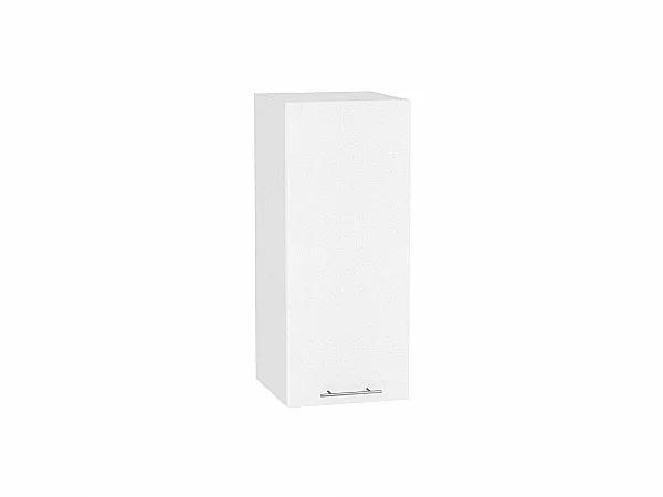 Шкаф верхний Валерия В300 (белый металлик)
