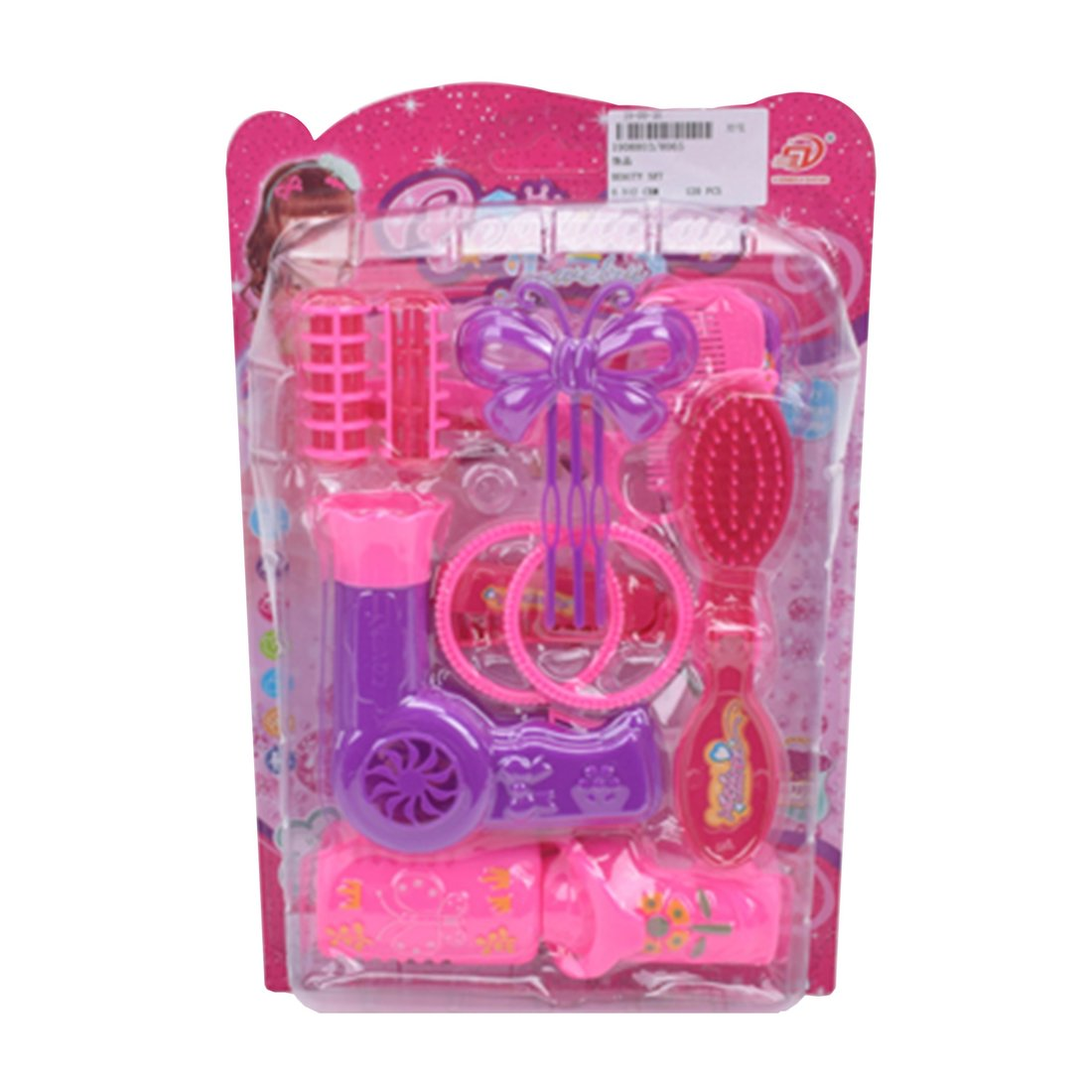 Игровой набор Стилист,в комплекте 11 предметов, блистер