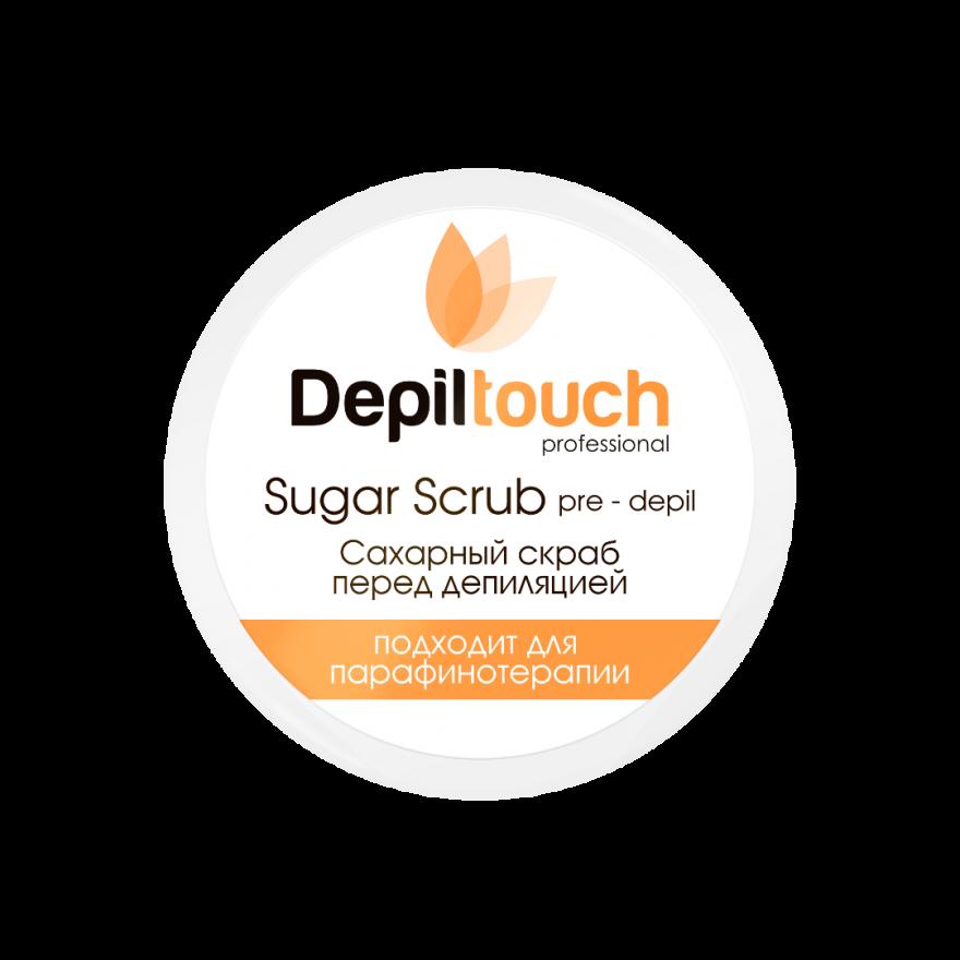 Скраб Depiltouch Professional сахарный, 250мл.
