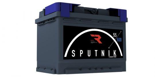 Автомобильный аккумулятор АКБ Sputnik (СПУТНИК) 6СТ-55 N 55Ач п.п.