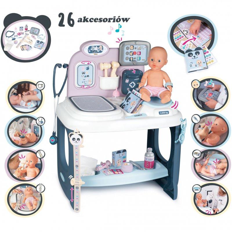 Игровой набор по уходу за куклой Smoby Baby Care 240302