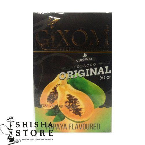 Табак Для Кальяна Gixom Papaya Flavoured 50g