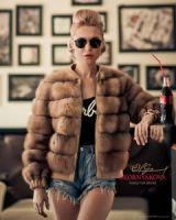 Купить куртку из куницы
